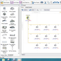 Toshiba VRF suunnitteluohjelma